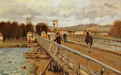 Footbridge at Argenteuil1