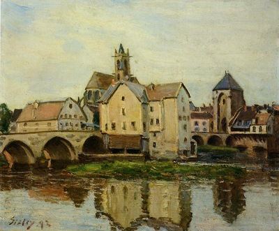 Moret sur Loing Morning