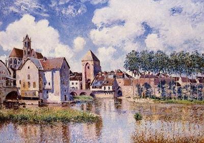 Moret sur Loing the Porte de Bourgogne