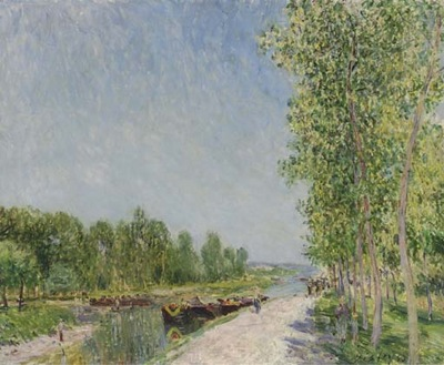 On the Banks of the Loing Canal