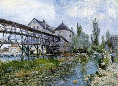 Provencher s Mill at Moret