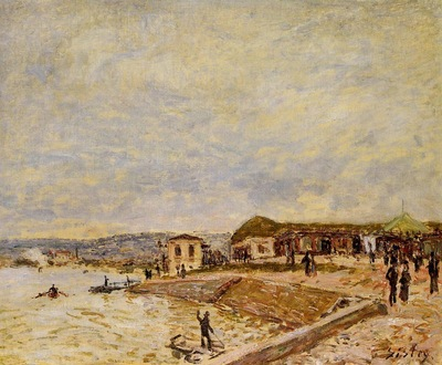 Seine at Daybreak