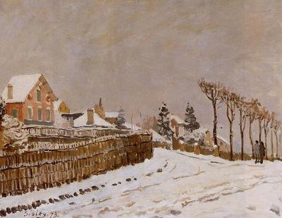 Snow at Louveciennes1