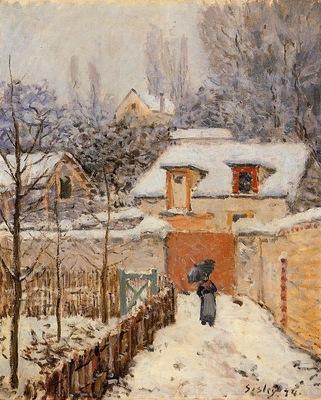 Snow at Louveciennes2