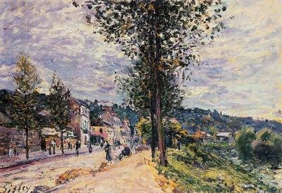 Street Entering the Village