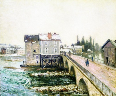 The Bridge and Mills of Moret Winter s Effect