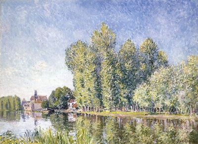 The Loing at Moret1