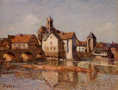 The Moret Bridge