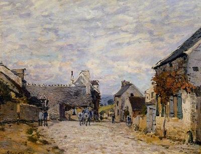 Village Street   Louveciennes