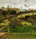 Autumn Landscape Louveciennnes