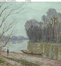 Banks of the Loing Winter