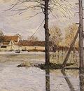 Ferry to the Ile de la Loge Flood