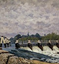 Molesey Weir   Morning