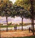 Promenade of Chestnut Trees