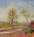 Road from Veneux to Moret on a Spring Day