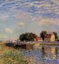 Saint Mammes Ducks on Canal