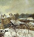 Snow Effect at Louveciennes