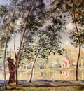Sunny Afternoon   Willows by the Loing