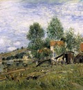 The Boatyard at Saint Mammes
