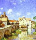 The Bridge at Moret