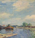 The Canal at Saint Mammes