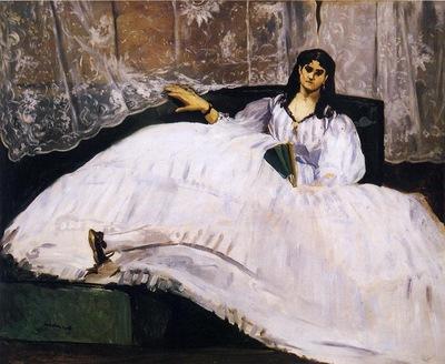 baudelaire s mistress reclining