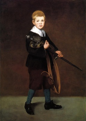 boy with a sword