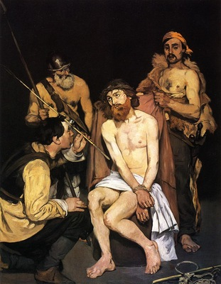 jesus mocked by the soldiers 1864