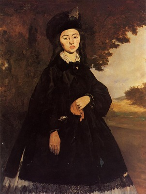 portrait of madame brunet 1860