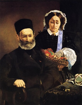 portrait of monsieur and madame manet