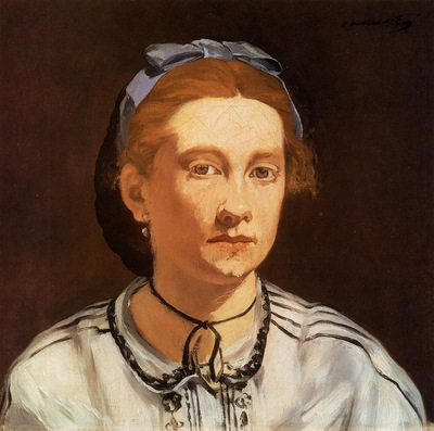 portrait of victorine meurent