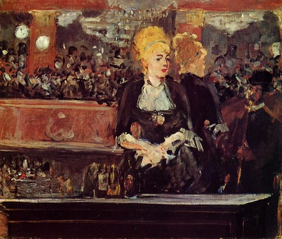 study for a bar at the folies bergere