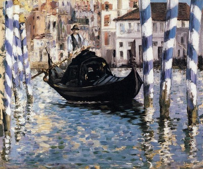 the grand canal venice also known as blue venice
