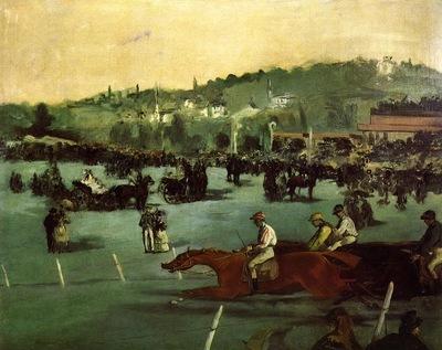 the races in the bois de boulogne