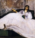baudelaire s mistress reclining
