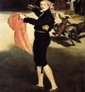 mlle v   in the costume of an espada