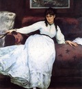 repose portrait of berthe morisot