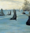 steamboat also known as seascape calm weather 1864