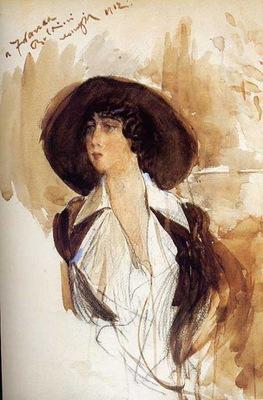 donna franca florio portrait