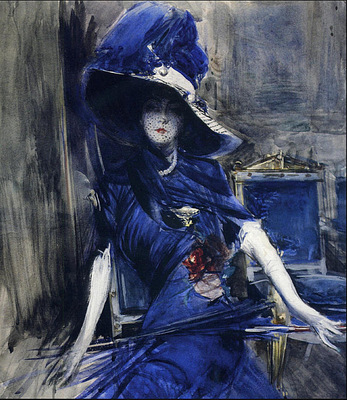 La Divina in Blu