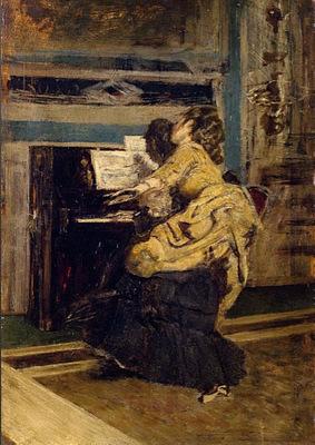 Signore al Pianoforte