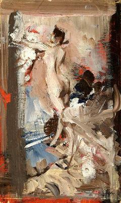 The Artist s Model Montecatini