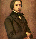 Portret of Edgar Germain Hilaire Degas
