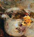 The Rose in Vase of Sassonia