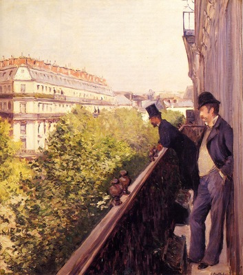 A Balcony 1880 Private collection