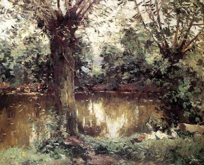 landscape banks of the yerres