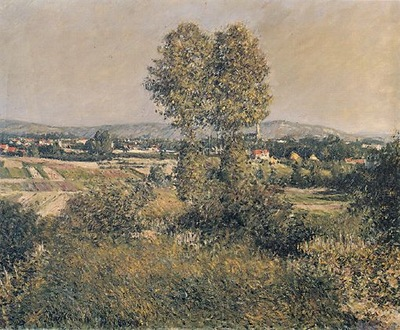 landscape at argenteuil