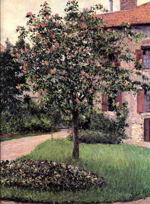 Petit Gennevilliers Facade Southeast of the Artist s Studio Overlooking the Garden Spring