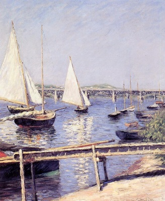 sailboats in argenteuil