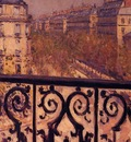 a balcony in paris 1880